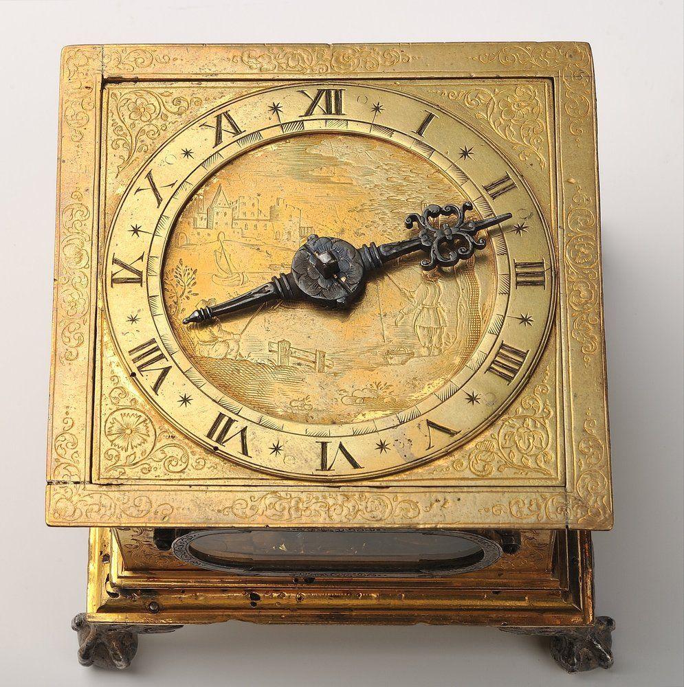 LDK valdovų rūmams padovanotas laikrodis, 1638 m. sukurtas Vilniuje