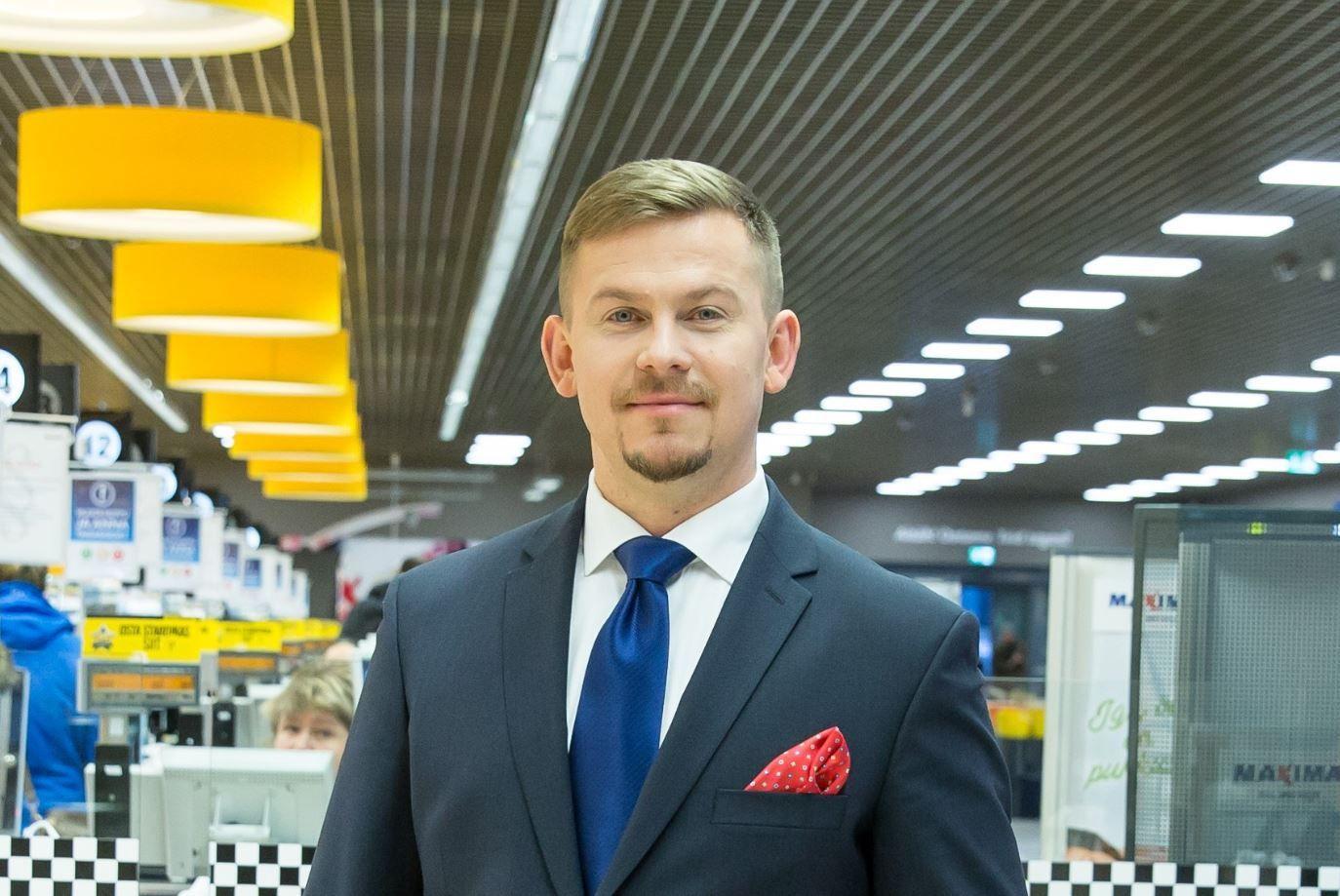 """""""Maxima"""" Estijoje turi naują vadovą"""