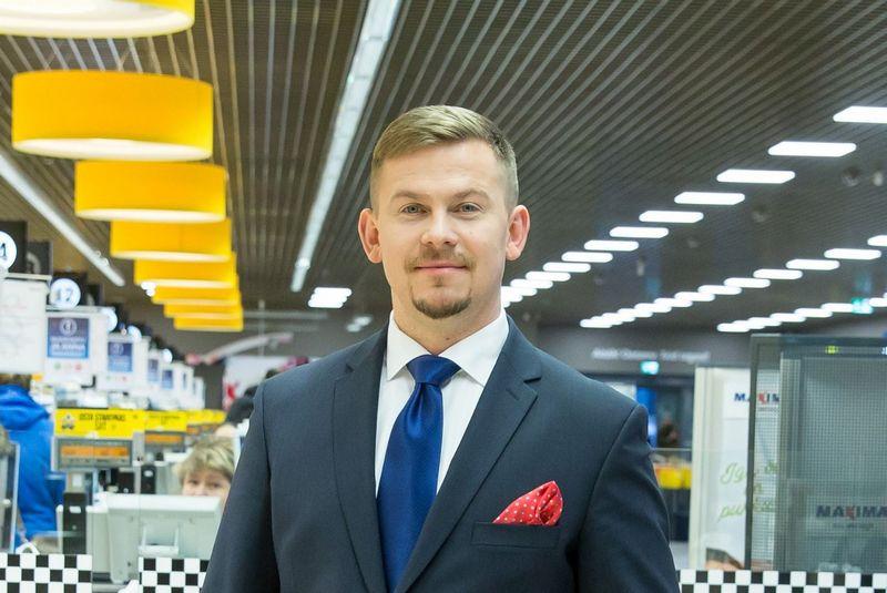 "Marko Poderis, ""Maxima Eesti"" generalinis direktorius. Bendrovės nuotr."
