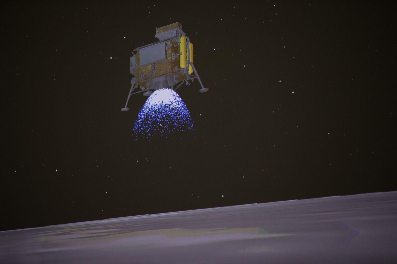 Kinijos zondas nusileido tolimojoje Mėnulio pusėje