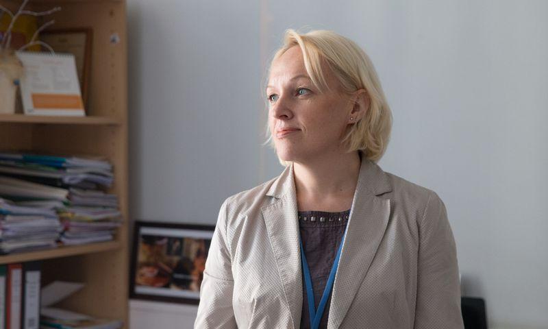 Eglė Ramanauskienė, VMI Kontrolės departamento direktorė. Juditos Grigelytės (VŽ) nuotr.