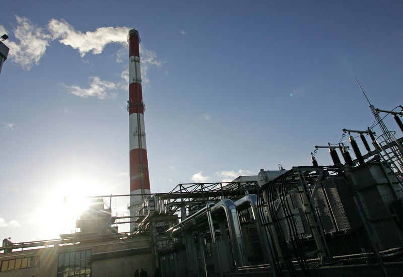 Biokuro katilinė, planuojama, pagamins apie 40,8 GWh šilumos per metus. Juditos Grigelytės (VŽ) nuotr.