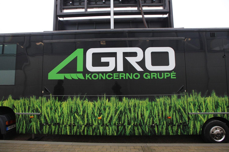 """Agrokoncerno"" pajamos per metus smuko 2% iki 141 mln. Eur"
