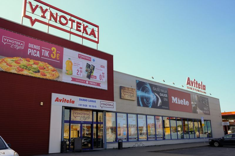 "Parduotuve ""Avitela"" Vilniuje, Ukmergės gatvėje. Vladimiro Ivanovo (VŽ) nuotr."
