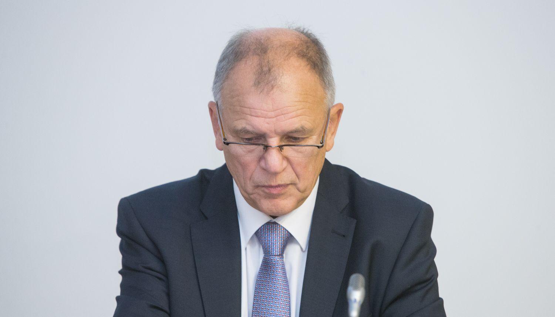 Dėl kandidatavimo į prezidentus V. P. Andriukaitis žada pranešti vasarį