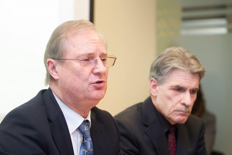 """Edmunas Vaitekūnas (kairėje). Irmano Gelūno (""""15min"""") nuotr."""
