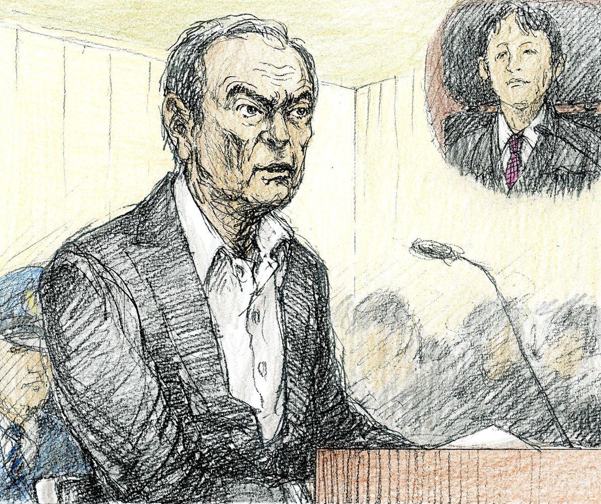 Tokijo teisme – viešas C. Ghosno pasirodymas