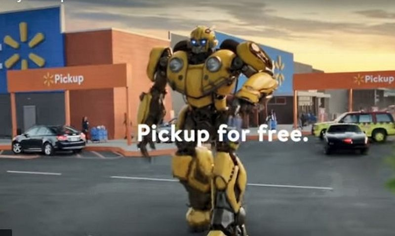 """Walmart"" reklamos akimirka."