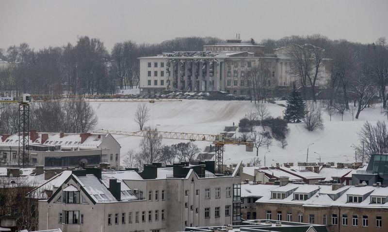 Profsąjungų rūmai Vilniuje, ant Tauro kalno. Juditos Grigelytės (VŽ) nuotr.
