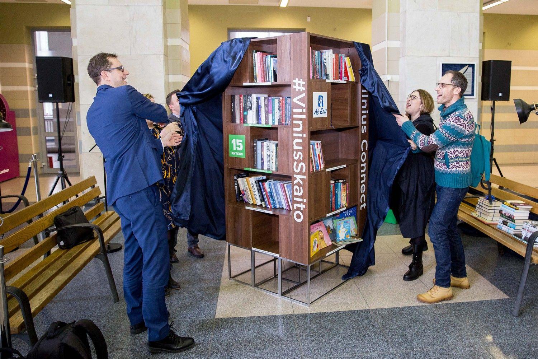 Vilniaus geležinkelio stotyje visą parą veiks skaitykla