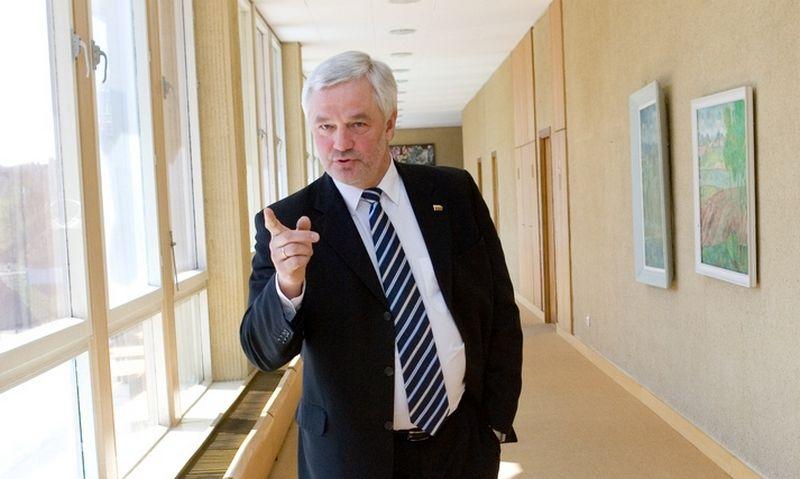 Vitas Matuzas, buvęs Seimo narys, partijos Tėvynės sąjunga - Lietuvos krikščionys demokratai narys, buvęs Panevėžio meras. Juditos Grigelytės (VŽ) nuotr.
