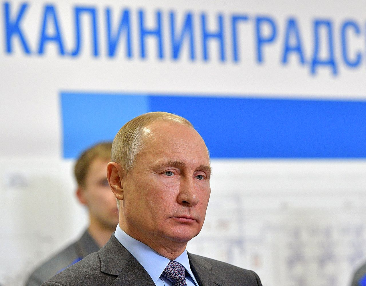 """""""Gazprom"""" V. Putinui pristatė Karaliaučiaus SkGD terminalą"""