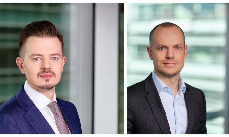 """Naujieji """"TGS Baltic"""" partneriai Lauras Butkevičius ir Aurimas Pauliukevičius."""
