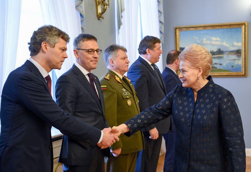 Roberto Dačkaus (Lietuvos Respublikos Prezidento kanceliarijos) nuotr.