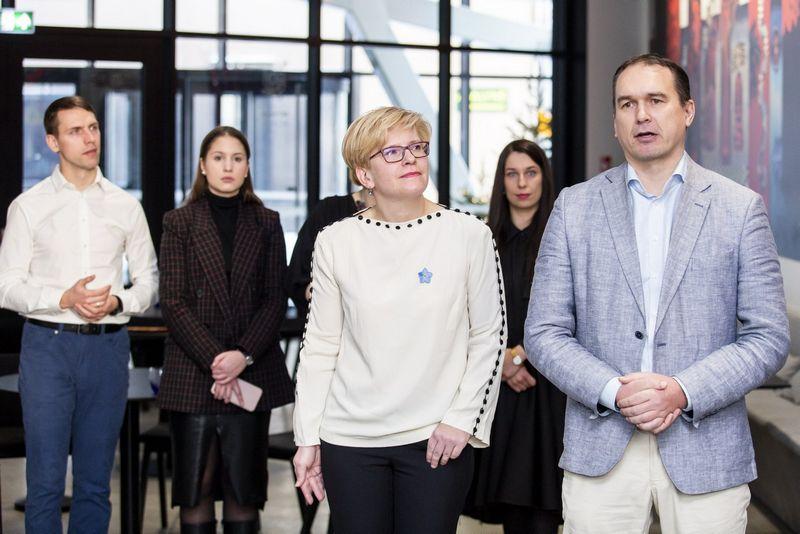 Ingridos Šimonytės rinkimų štabo vadovu tapo Paulius Lukauskas. Luko Balandžio (15min.lt/Scanpix) nuotr.