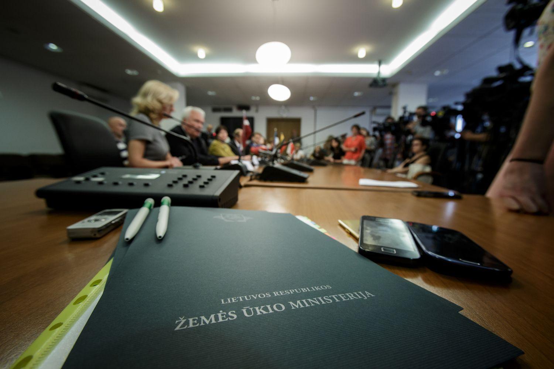 Ministerijos perkėlime mato 200.000 sutaupytų eurų