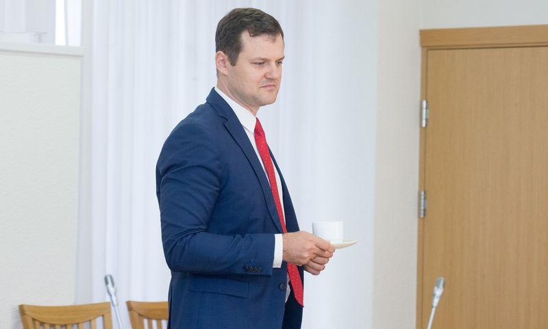 Lietuvos socialdemokratų partijai vadovauja Vilniaus vicemeras Gintautas Paluckas Juditos Grigelytės (VŽ) nuotr.