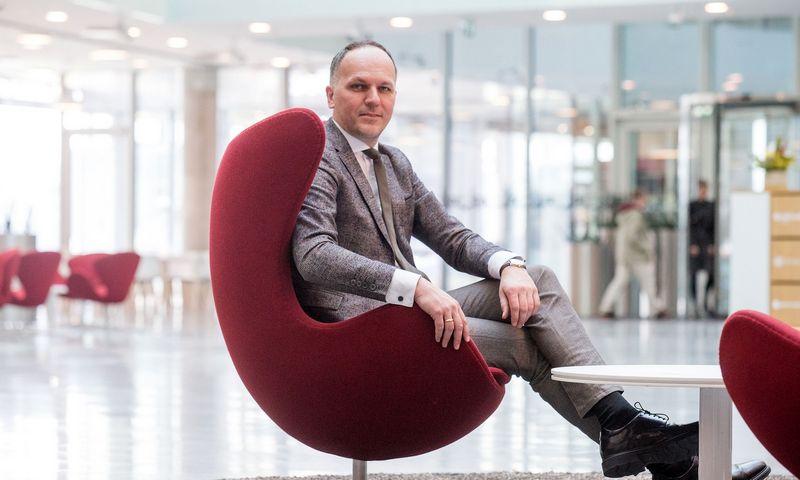 """Laimonas Belickas, finansavimo paslaugų bendrovės """"UniCredit Leasing"""" Lietuvoje generalinis direktorius: """"Jei vienas finansuotojų nepalaikė jūsų idėjos, niekada nemanykite, kad visas finansų pasaulis į ją žiūri neigiamai."""" Vladimiro Ivanovo (VŽ) nuotr."""