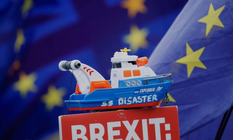 Pasitraukimas iš ES be susitarimo reikštų valandų valandas truksiančius kiekvieno skrydžio vėlavimus, vėlavimus uostuose. Philo Noble'o nuotr.
