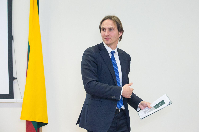 M. Jurgilas: planuojama ambicinga fintech plėtra