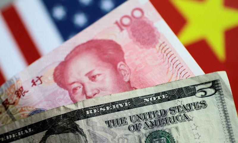 """Derybos tarp Kinijos ir JAV atstovų buvo pratęstos iki trijų dienų. Thomaso White'o (""""Reuters"""" / """"Scanpix"""") nuotr."""