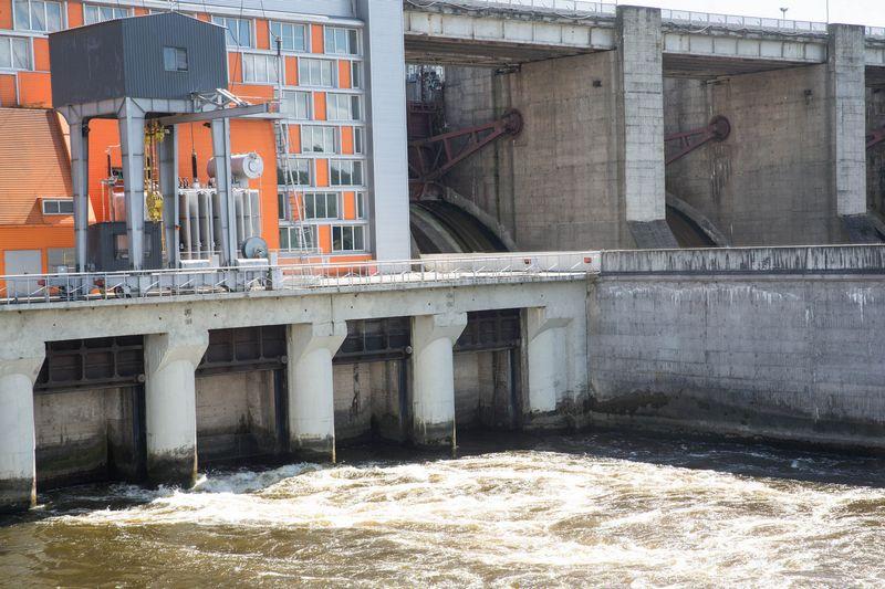 Kauno Algirdo Brazausko hidroelektrinė. Vladimiro Ivanovo (VŽ) nuotr.