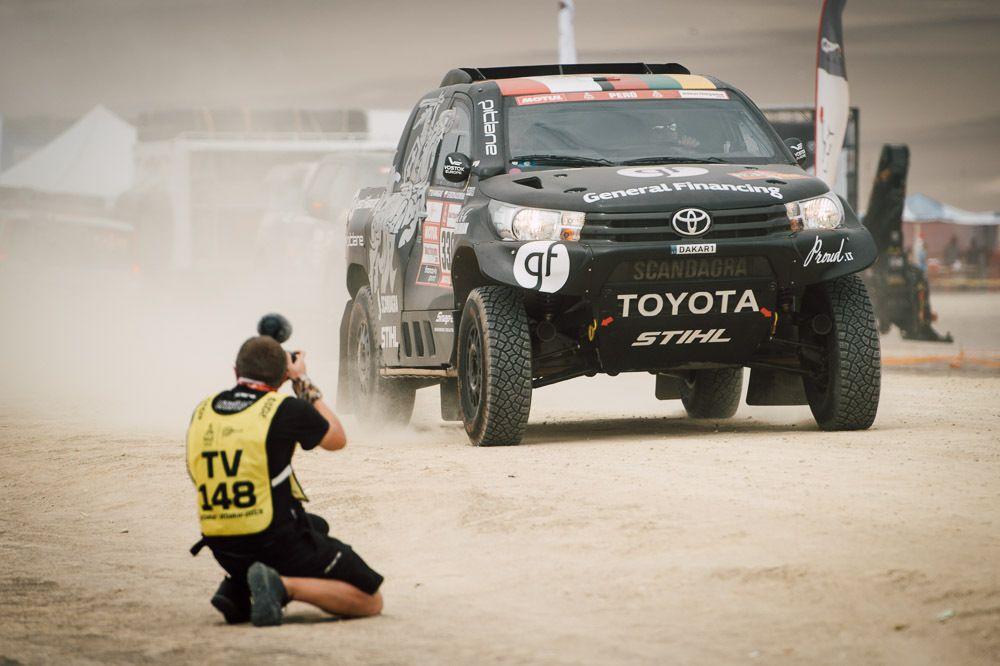 Po sunkios antrosios Dakaro dienos – 800 km ilgio trečiadienio išbandymas