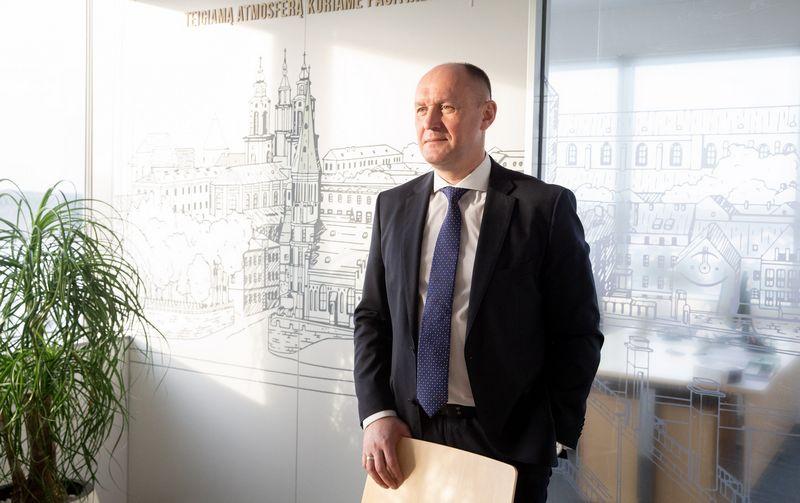 """Kęstutis Vanagas, NT plėtros ir statybos UAB """"YIT Lietuva"""" vadovas. Juditos Grigelytės (VŽ) nuotr."""
