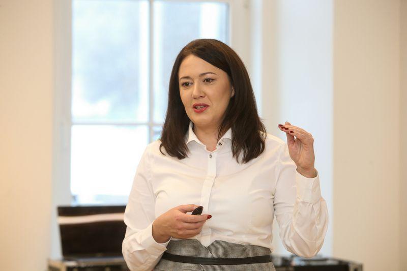 """Kristina Meidė, """"Maxima LT"""" generalinė direktorė. Vladimiro Ivanovo (VŽ) nuotr."""
