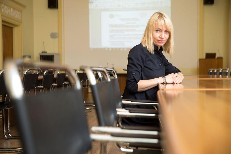 Raminta Radavičienė, Lietuvos pramonininkų konfederacijos Verslo aplinkos ir ekonomikos departamento direktorė. Vladimiro Ivanovo (VŽ) nuotr.