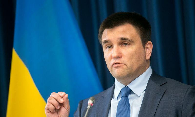 Pavlo Klimkinas. Juliaus Kalinsko (15min) nuotr.