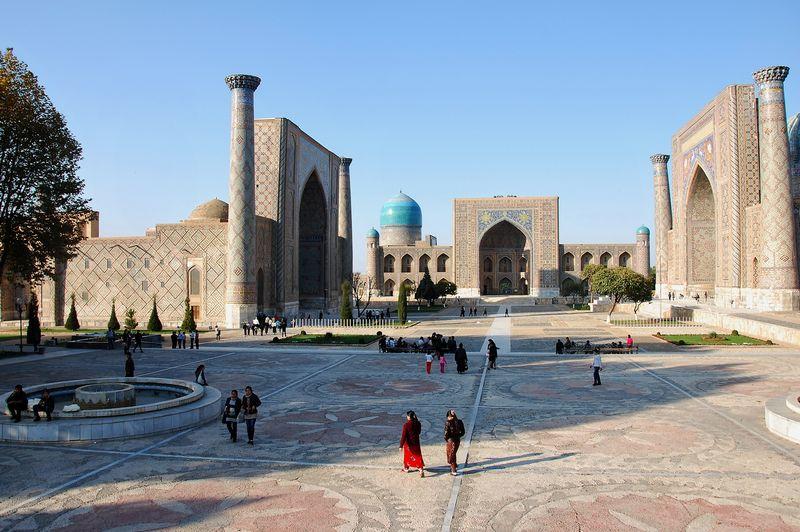 Samarkandas – trečiasis pagal dydį Uzbekistano miestas ir Samarkando provincijos sostinė.