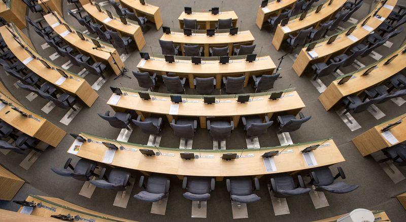 Seimo rūmų posėdžių salė. Juditos Grigelytės (VŽ) nuotr.