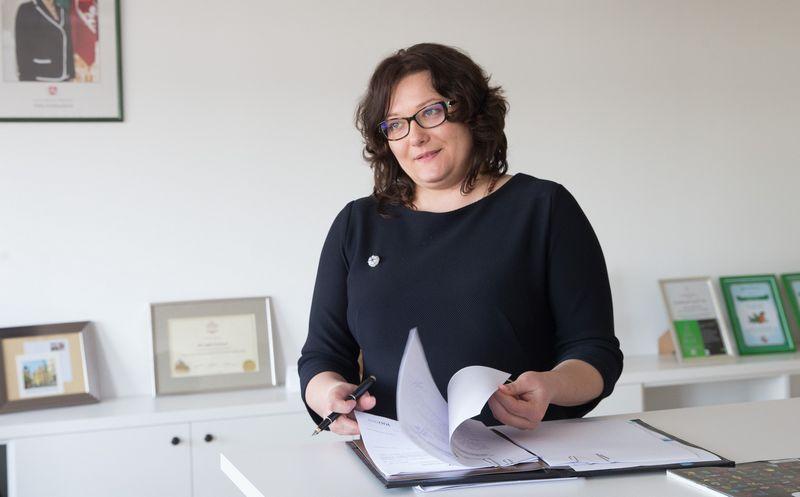Ligita Valalytė, Užimtumo tarnybos vadovė. Juditos Grigelytės (VŽ) nuotr. ,