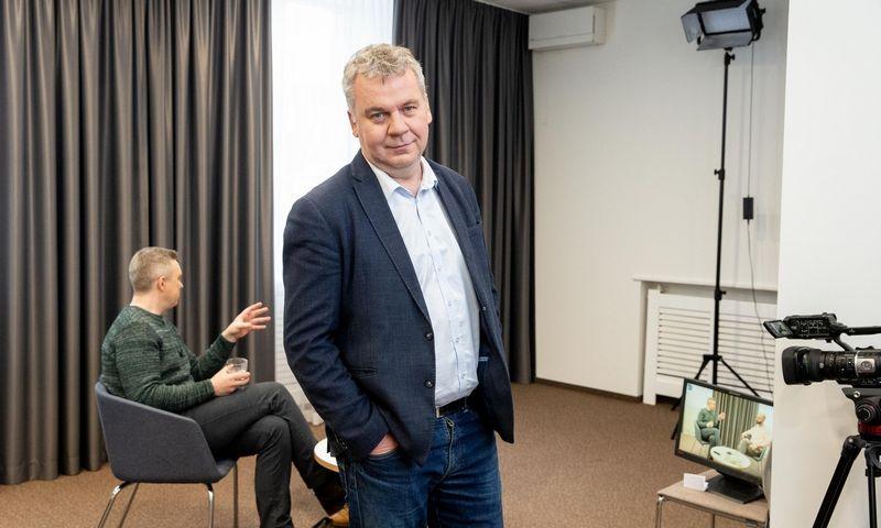 """Ramūnas Terleckas, dienraščio """"Lietuvos žinios"""" vyriausiasis redaktorius.  Juditos Grigelytės (VŽ) nuotr."""