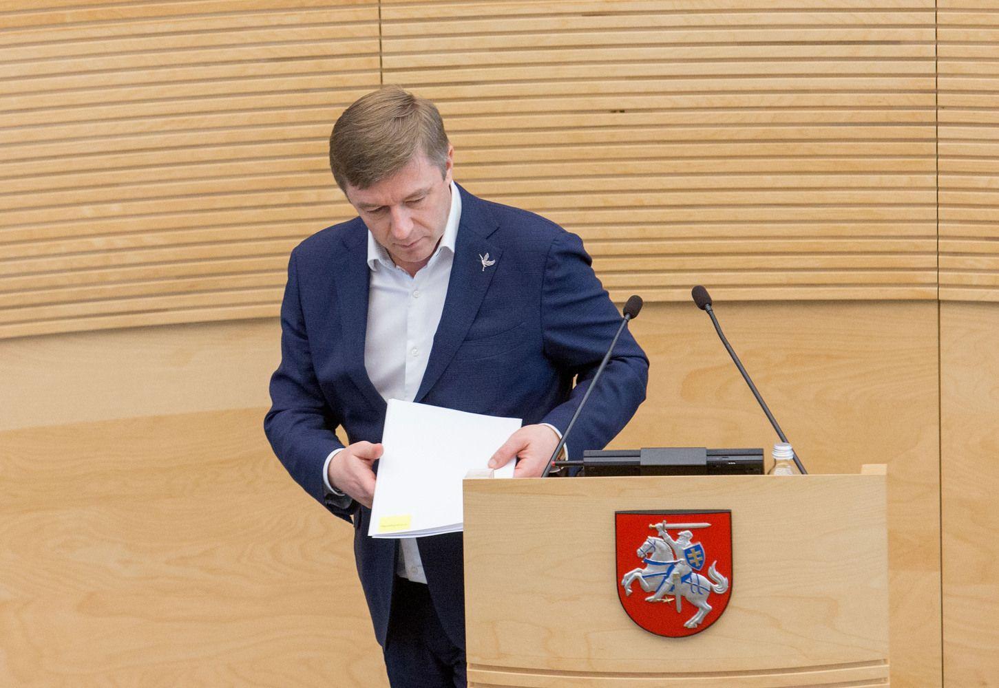 Seimas imasi opozicijos ir žurnalistų kritikuojamos LRT valdymo pertvarkos