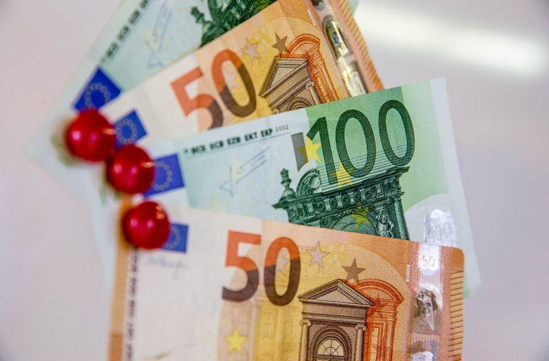Pinigai, eurai. Juditos Grigelytės (VŽ) nuotr.
