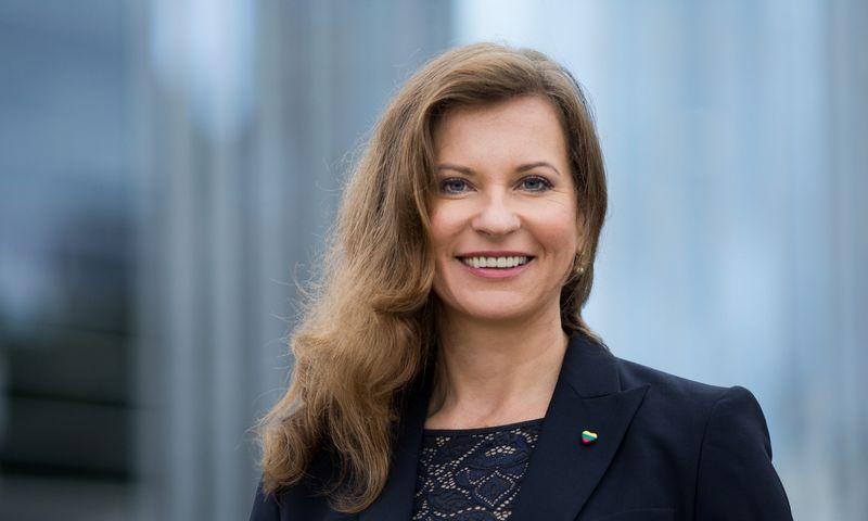 """Daina Kleponė, VšĮ """"Versli Lietuva"""" vadovė, sako, kad dirbti viešajame sektoriuje ją paskatino noras atiduoti duoklę Lietuvai ir pasidalyti sukaupta patirtimi. Irmanto Gelūno nuotr."""