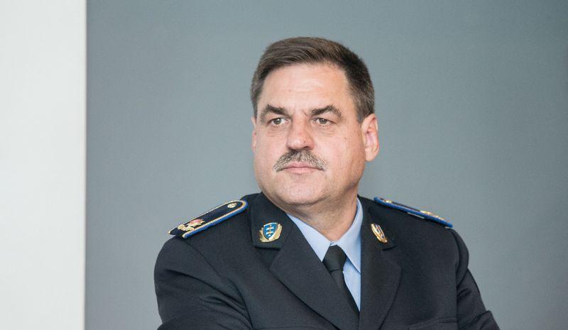 Kalėjimų departamento direktorius Robertas Krištaponis. Juditos Grigelytės (VŽ) nuotr.