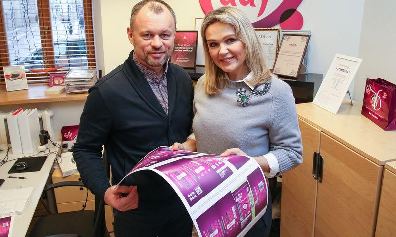 """Vilmantė Markevičienė UAB """"AAAA Europe Distribution"""", prekiaujančios higienos gaminiais su prekių ženklu """"Gentle day"""", bendraturtė Vladimiro Ivanovo (VŽ) nuotr."""