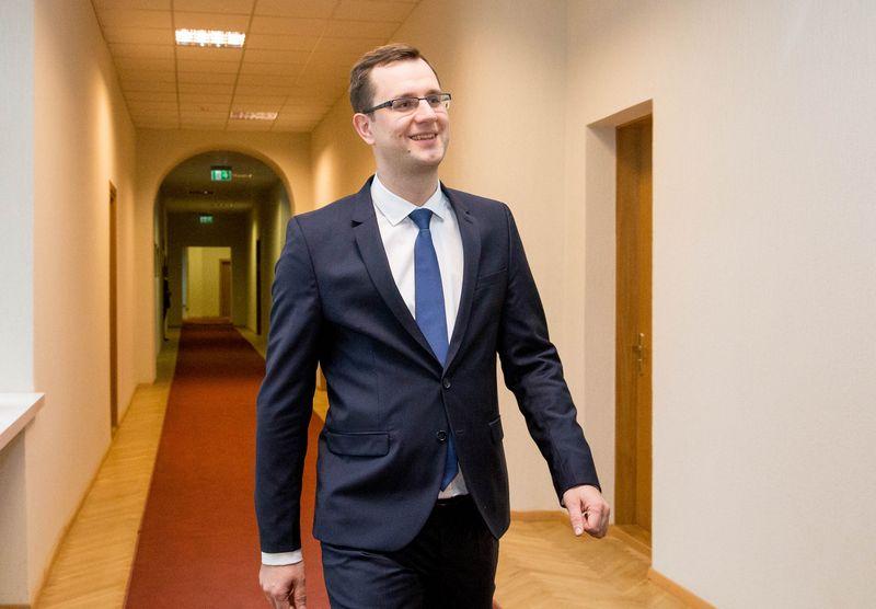 """Mantas Bartuška, AB """"Lietuvos geležinkeliai"""" generalinis direktorius. Vladimiro Ivanovo (VŽ) nuotr."""