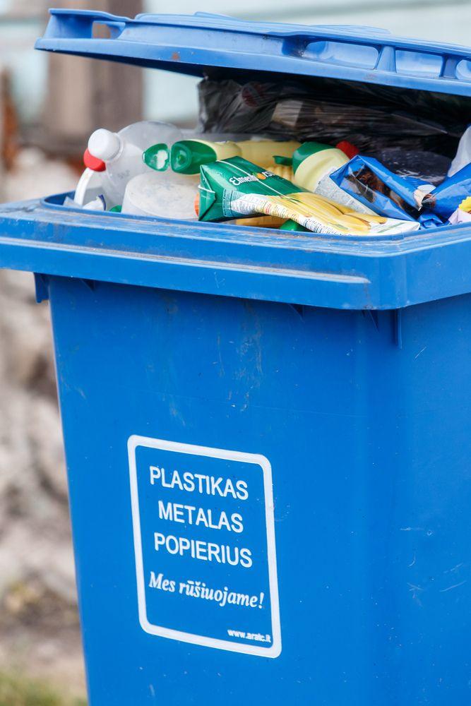 Naujas suomių rekordas – į sąvartynus tik 1% buitinių atliekų