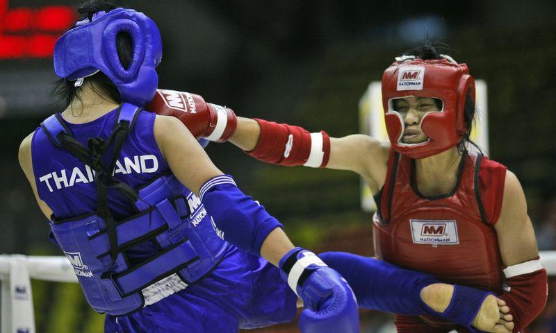Fizinis ir psichologinis krūvis Muay Thai didžiulis. AP nuotr.