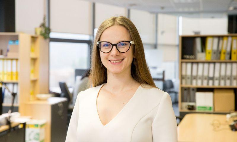 """Anželika Rusteikienė, Lietuvos """"Junior Achievement"""" direktorė."""