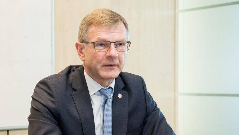 Gintaras Adomonis, Nacionalinės verslo administratorių asociacijos prezidentas.Juditos Grigelytės (VŽ) nuotr.