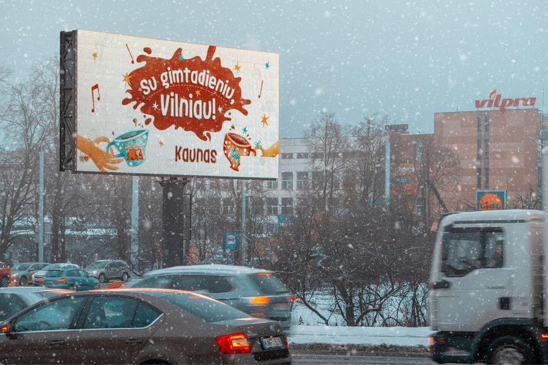 Kaunas vilniečius vakarieniauti šiemet kviečia sausio 26 d. Kauno miesto savivaldybės nuotr.