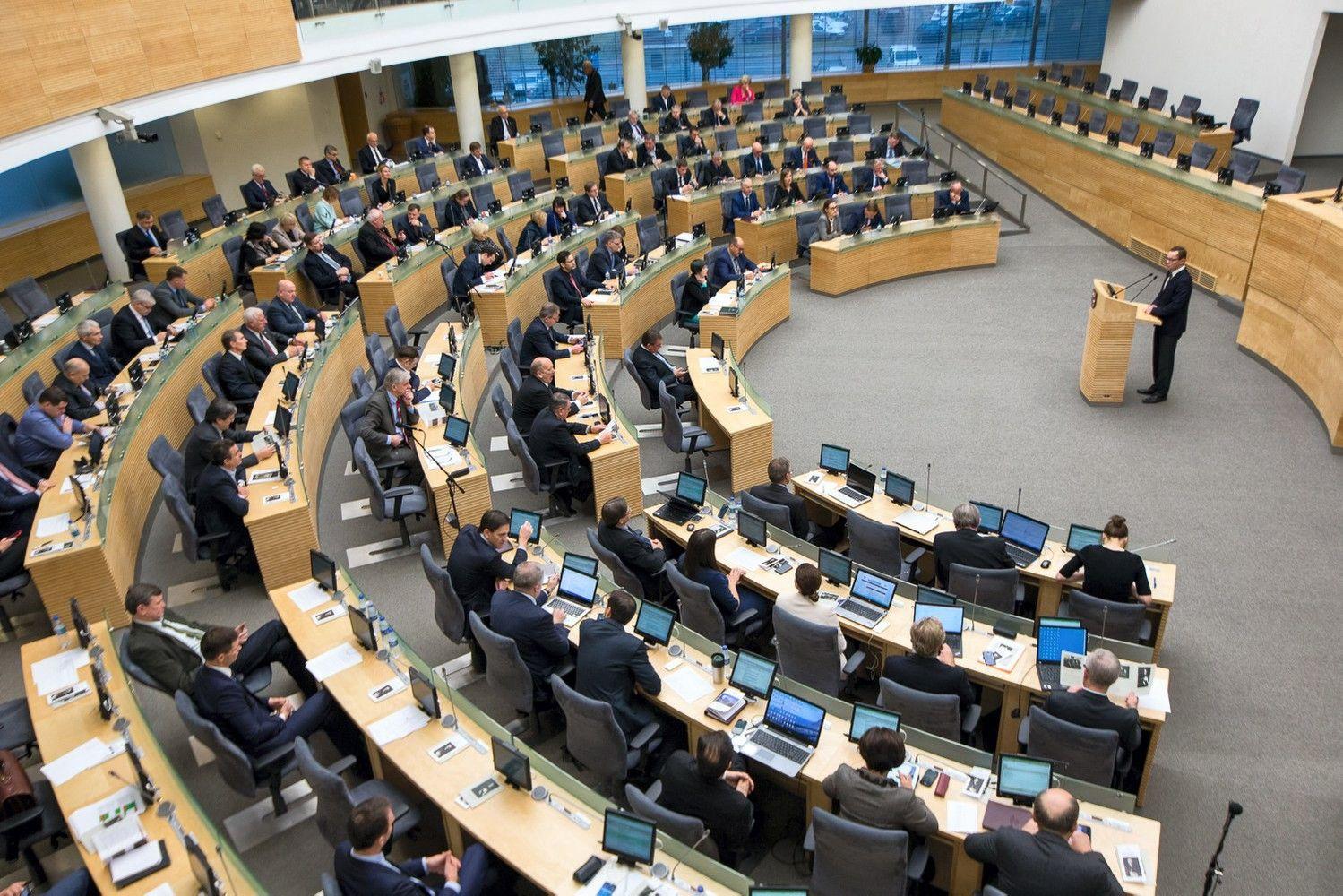 Merų postų savivaldybėse sieks iki 14 Seimo narių