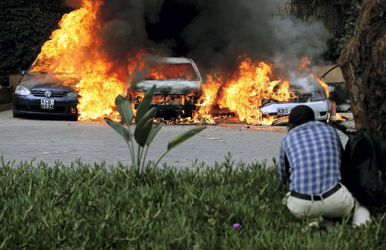 Kenijos sostinės prabangus viešbutis tapo teroristų taikiniu
