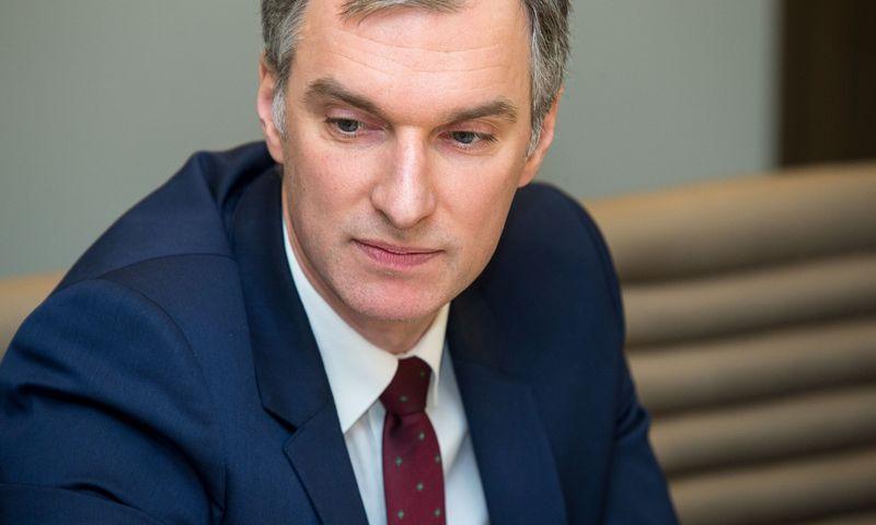"""Mindaugas Sinkevičius, VĮ """"Turto bankas"""" vadovas. Vladimiro Ivanovo (VŽ) nuotr."""