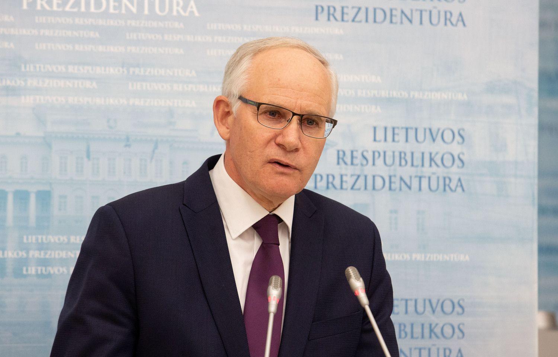 Portretas: švietimo ministras A. Monkevičius – mokytojas iš Rietavo, grįžtantis į jau pažįstamą postą
